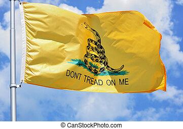 Gadsden Flag - American Revolutionary War Era Gadsden Flag...