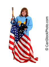 American Ringette Player