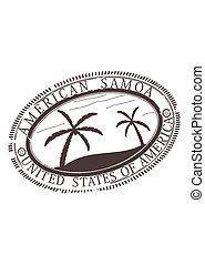 American Samoa stamp