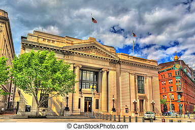 American Security and Trust Company Building, a Neoclassical bank office in Washington, D.C.