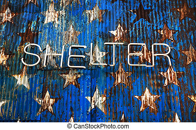 American shelter in NYC