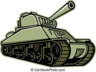 american-sherman-tank-mascot