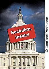 American Socialists Inside.