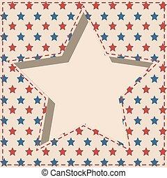 American star frame.