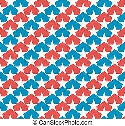 American stars flag