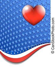 American Stars Stripes Background