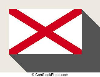 American State of Alabama flag