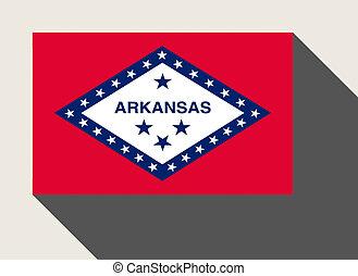 American State of Arkansas flag