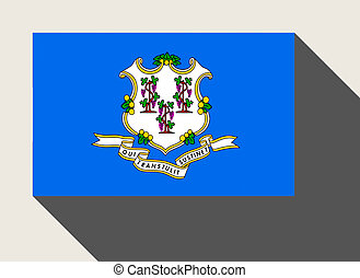 American State of Connecticut flag