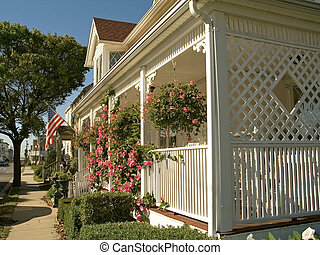 American Street - This is a shot of a nice home along a...