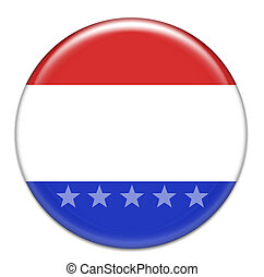 American style button