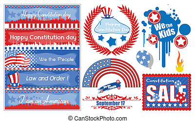 American Theme Constitution Day