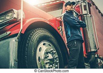 American Trucker Proud
