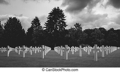 American War Cemetery Luxembourg June 28 2020