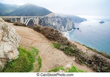 American West Coast California landscape.