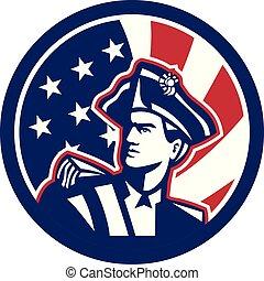 american_revolutionary_strsstrp_BUST-ISO-USA-FLAG - Icon...