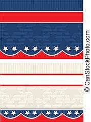 Americana Postcards - Vector art in Illustrator 8. Set of...