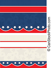 Americana Postcards - Vector art in Illustrator 8. Set of ...