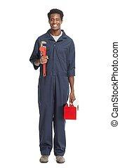 americano africano, plumber.