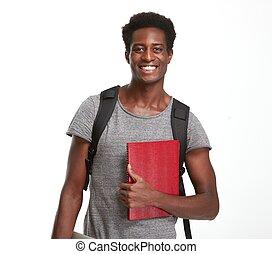 americano africano, student.