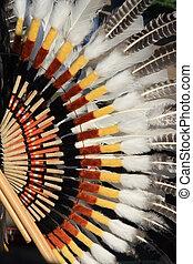 americano, costume, sud, nativo