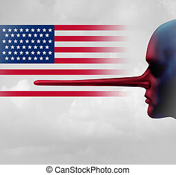 americano, fiducia, crisi