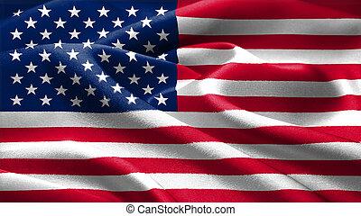 americano, flag.