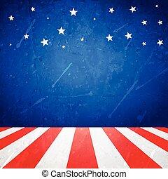 americano, fundo, com, espaço, para, seu, texto