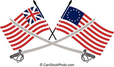 americano, guerra, indipendenza