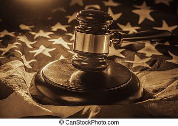 americano, lei, imagem, legal