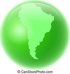 amerika, grön