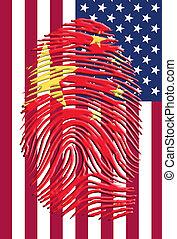 amerikaan, chinees, identiteit