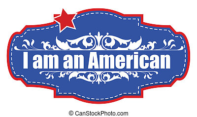 amerikaan, -, grondwet, dag