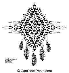 amerikaan indiaas, dromenvanger, ethnische