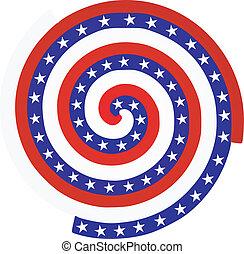 amerikaanse vlag, textuur