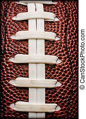 amerikai futball, closeup, elnáspángol