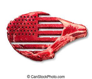 amerikai, iparág, izomerő