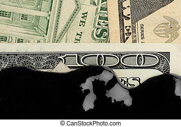 amerikai, olaj, dollár