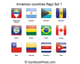 amerikai, országok, gombok, állhatatos, 1