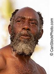 amerikan, afro-, senior