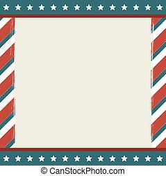 amerikan, bakgrund