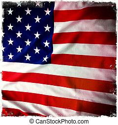 amerikan flagga