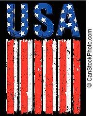 amerikan flagga, usa