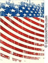 amerikan, grunge, backround, broschyr