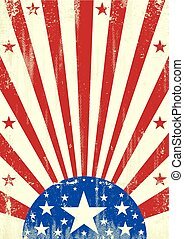 amerikan, grunge, stjärnor, bakgrund