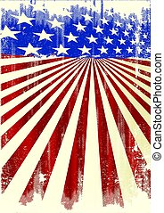 amerikan, kylig, affisch