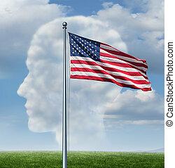amerikan, medborgarskap
