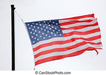 amerikan, vlag