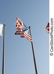 amerikaner, flag.