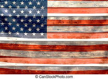 amerikaner flag, uafhængighed, i, united states